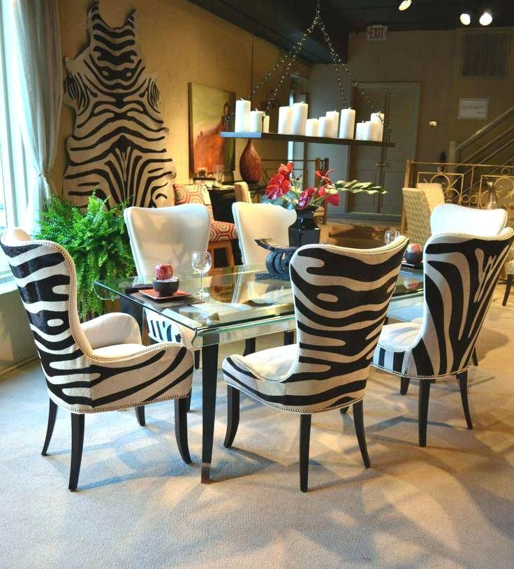 Fine Zebra Dining Room Chairs Animal Print Dining Chairs Best Download Free Architecture Designs Aeocymadebymaigaardcom