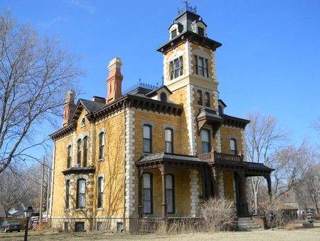 Lebold mansion 106 n vine street abilene kansas second for Second empire homes for sale
