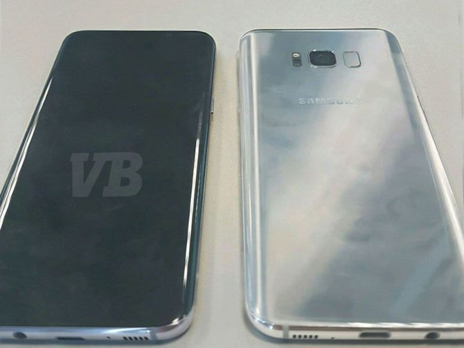 Plus a glimpse at the phone purported to be Samsung's newest Galaxy flagship.