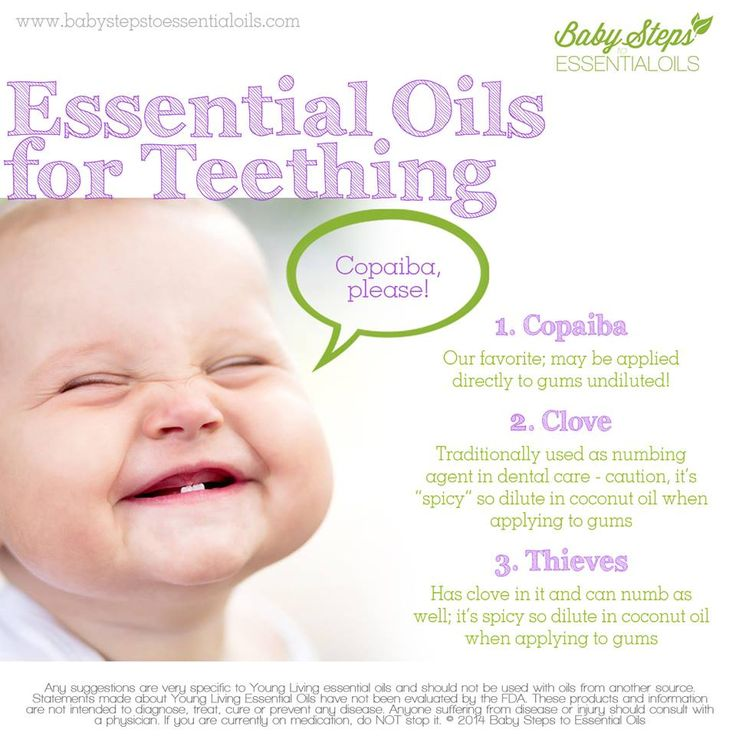 Young Living Essential Oils: Teething Baby - Join our growing FB community of MOMS & families getting healthier through being #OilObsessed! http://FB.com/EssentialOilObsessed or click on our pin to contact us and tell us more about yourself!