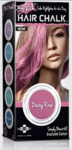 (2 Pack) Splat Hair Chalk (Dusty Rose) -- Click image to review more details.
