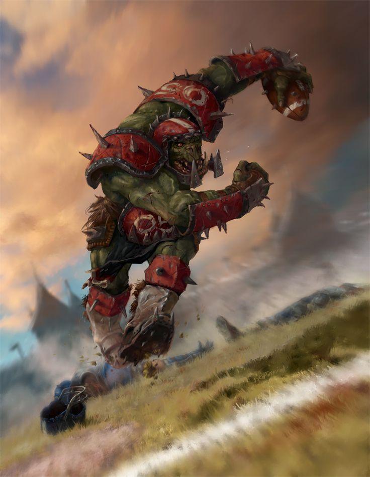 BLOOD BOWL cover Picture  (2d, fantasy, orc, action, blood bowl)