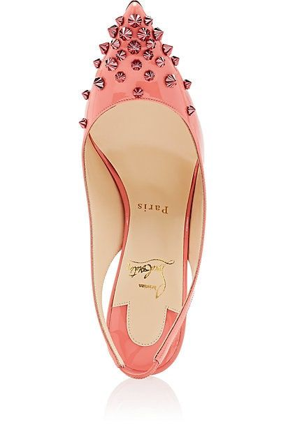 10e8a2807ed Christian Louboutin Drama Sling Patent Leather Pumps - Heels - 505609271