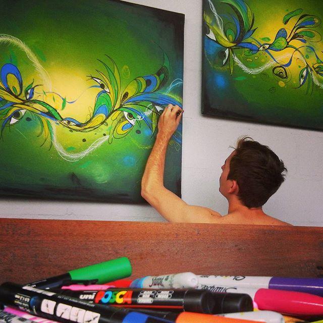 #art #arte #verde #green #fullcolors #color #colors #pintar #pintando #painting #draw #dibujo #drawing #ilustración #illustration #inpiration #inspiración #crear #creative #poscagalery