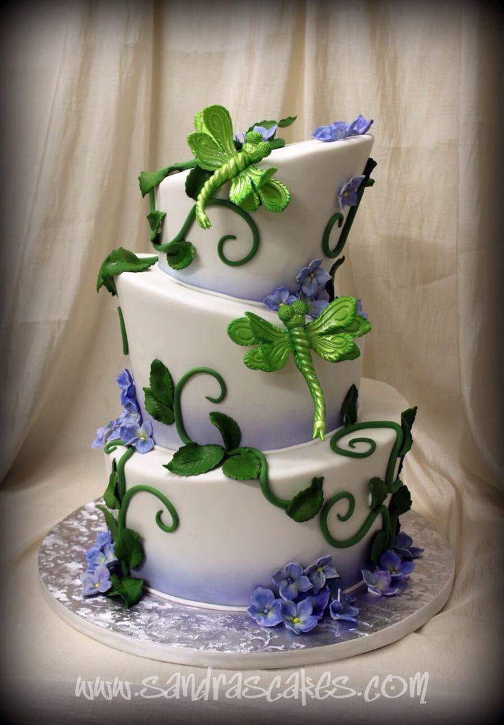25 Best Ideas About Dragonfly Cake On Pinterest Fondant