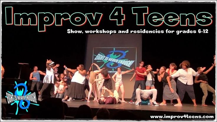 We weekly present Improv 4 Kids (Saturdays 3pm) and LMAO Off Broadway (Saturdays 8pm) but we almost never get to present IMPROV 4 TEENS as a public show. That changes this Spring!!!
