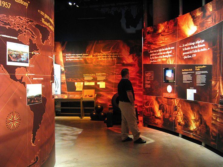 Permanent Exhibitions, Canadian War Museum,  Exhibit Design by: Origin Studios Inc.