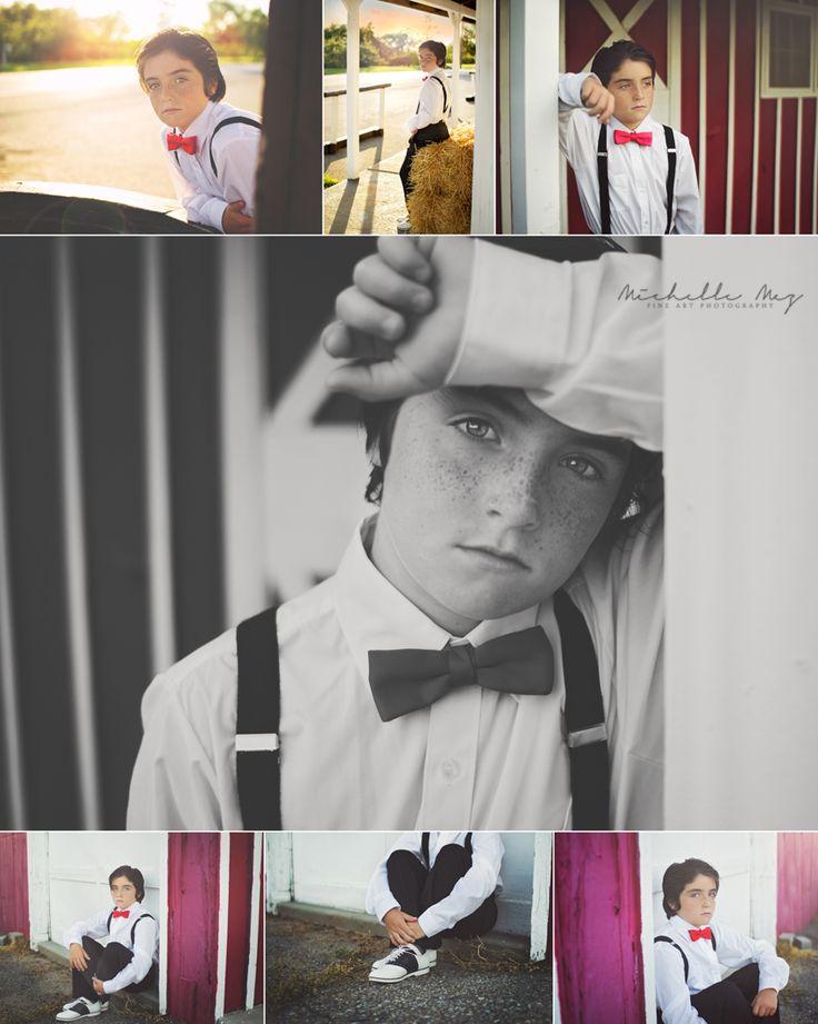 young boy inspiration, preteen boy photo shoot, sunset photoshoot, boy posing, preteen posing, suspenders, bow tie