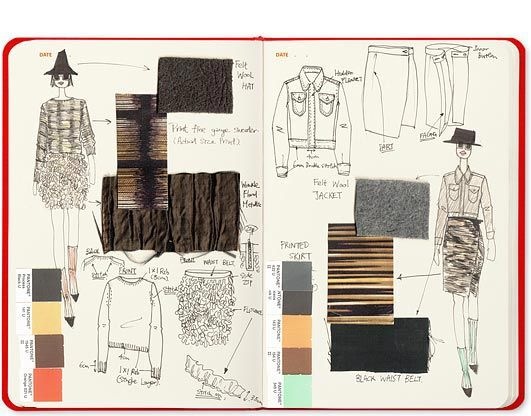 Details - Tailor-made for fashion designers - Aim for fast sketching and brainstorming - Mini fashion dictionary - 400 barely visible templates - Pocket in the back of the sketchbook Specs - Size: 14c