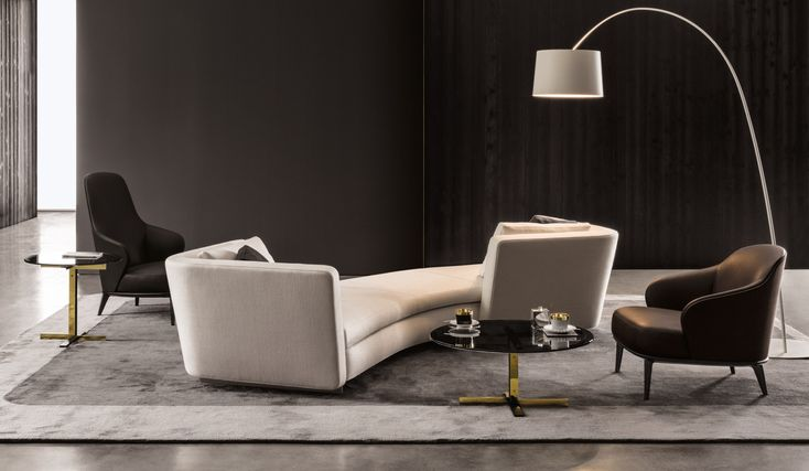 Download the catalogue and request prices of Seymour By minotti, sofa