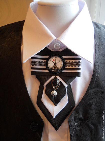 Броши ручной работы. Ярмарка Мастеров - ручная работа Брошь-галстук. Handmade.