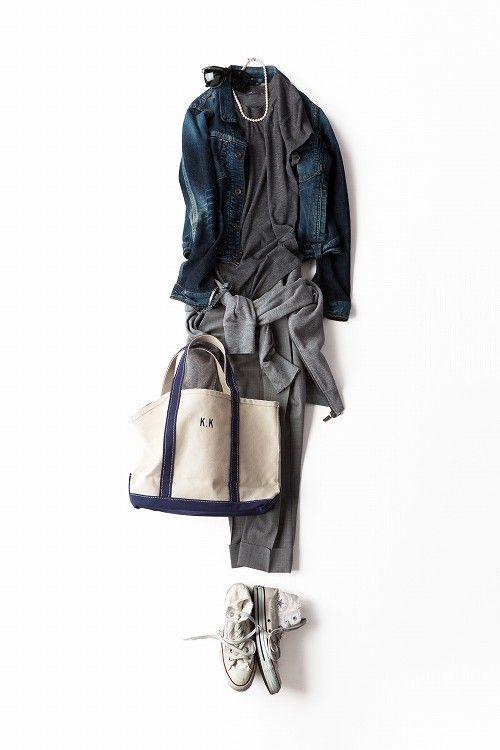 大人配色をラフに楽しもう!2013-05-20 | jacket price :29,400 brand : YANUK http://yanuk.jp/ | hoodie brand : THE NORTH FACE | trousers brand : Theory