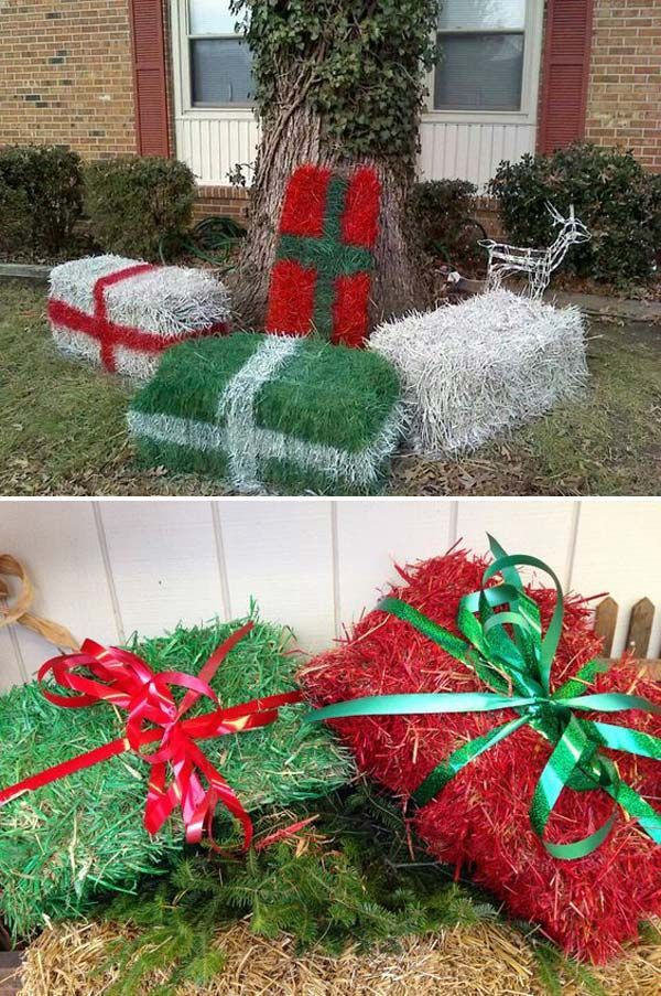 Amazing Christmas Diy Porch Decoration Ideas Christmas Decorations Diy Outdoor Christmas Garden Decorations Decorating With Christmas Lights