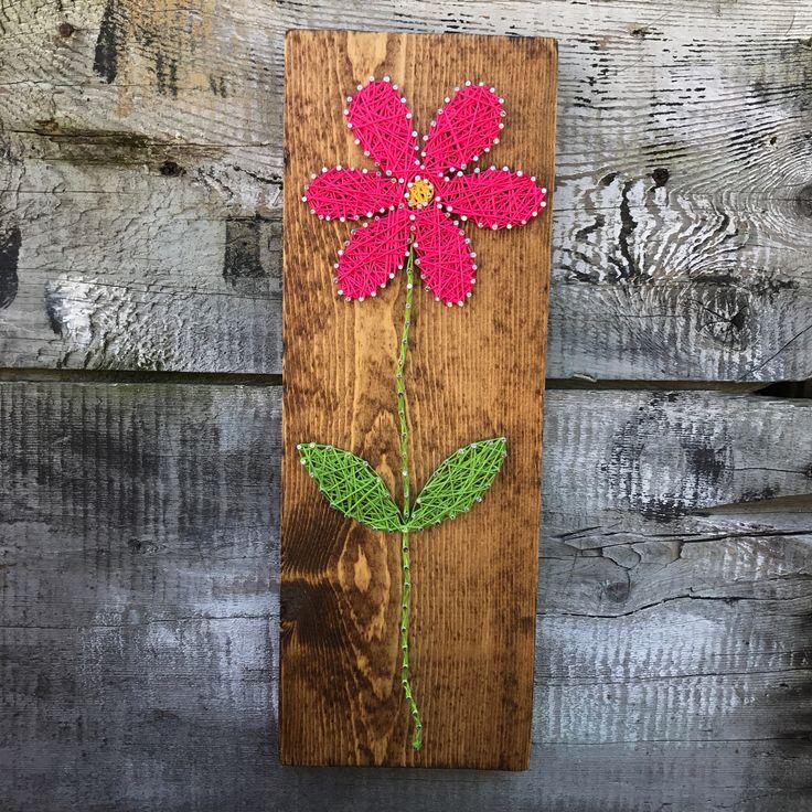 READY TO SHIP String Art Flower String Art Handmade Summer