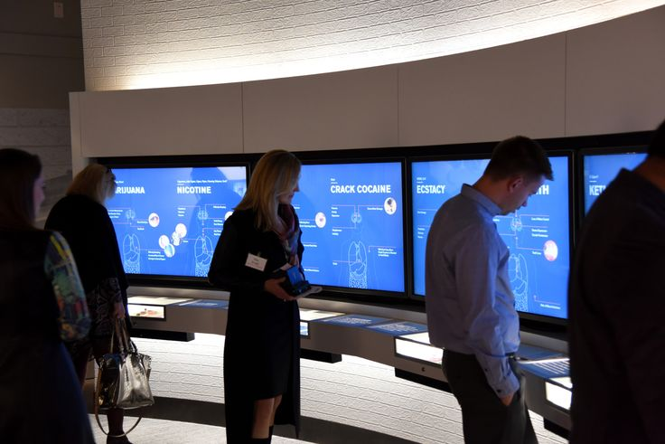 The YouthLink Centre has many interactive displays.