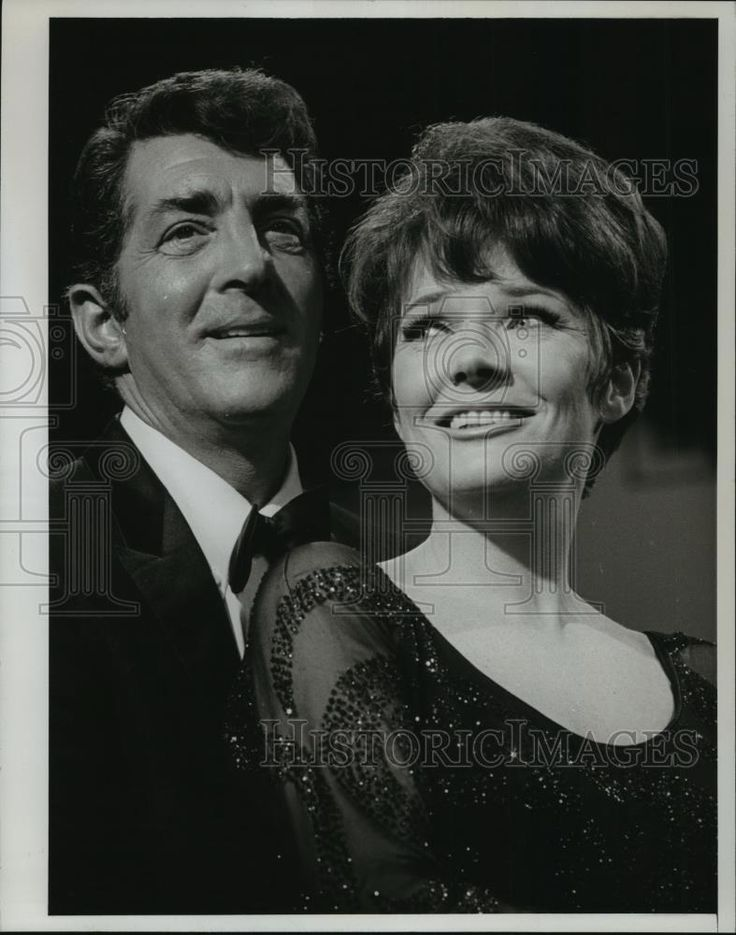 "1967 Press Photo Dean Martin and Polly Bergen on ""The Dean Martin Show"""