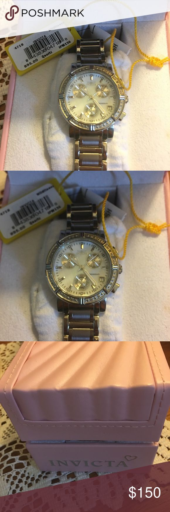 Invicta women's watch Never worn with extra links provided originally 895$ Invicta Accessories Watches