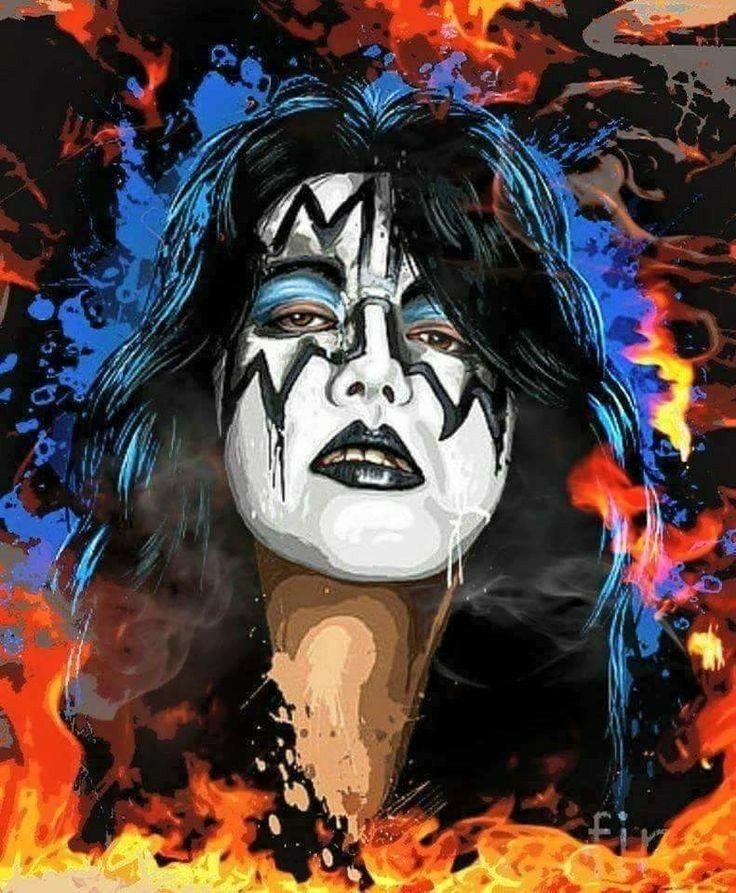 Pin By Omar Segura Espinoza On Uwantedthebest Kiss Artwork Kiss Rock Bands Kiss Band