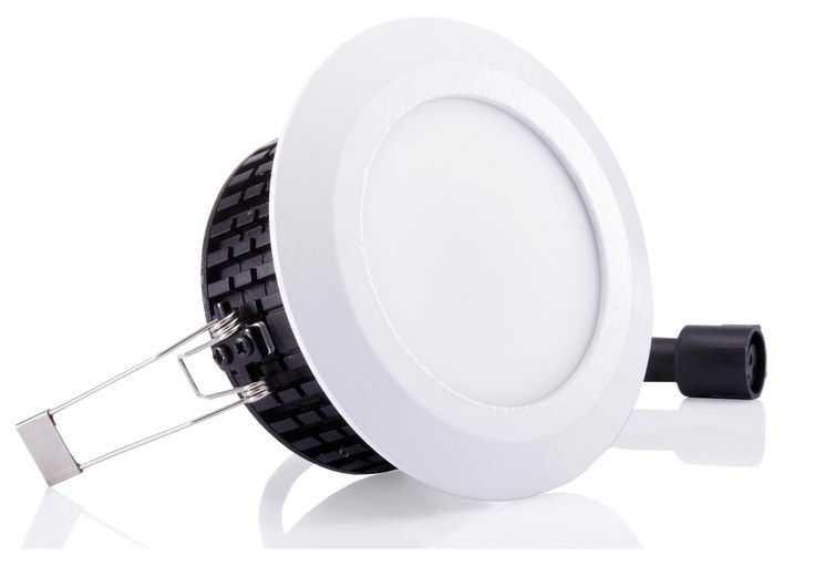 """3"""" Warm White Evo LED Downlight perfect for welcoming reception areas and waiting rooms in healthcare. Healthcare lighting from Exled the LED lighting experts."""