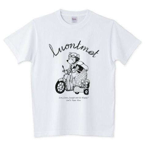 luontmet【side car】 | デザインTシャツ通販 T-SHIRTS TRINITY(Tシャツトリニティ)