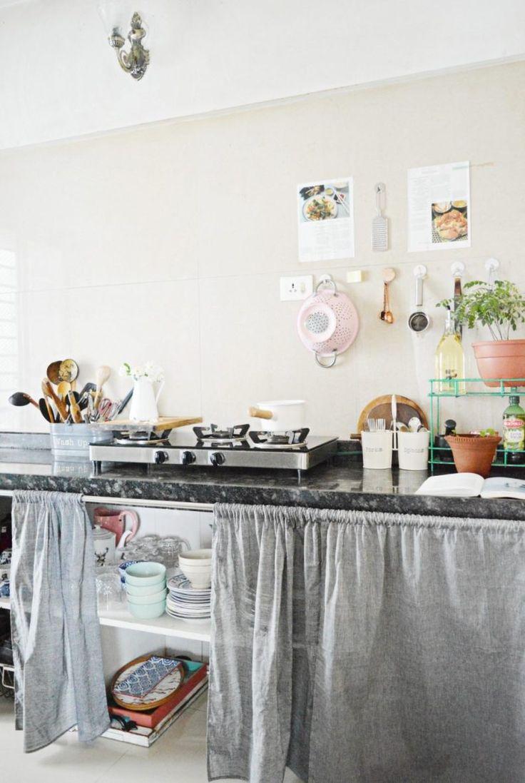 100smallspaceideas How To Spruce Style Your Indian Rental Kitchen Homedecor Kitchen Ideas I Rental Home Decor Apartment Decorating Rental Rental Kitchen