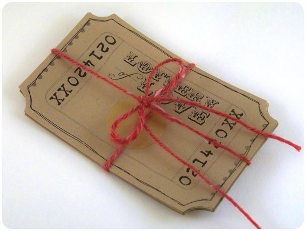 "DIY Lottery of Love Tickets (with Printables) - Scratch-off tickets for your love, each with a different ""prize"" that had some significance to him/her! Lovely gift idea!"