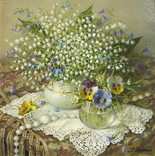 Lydia Datsenko - 'nun harika yağlıboya tabloları