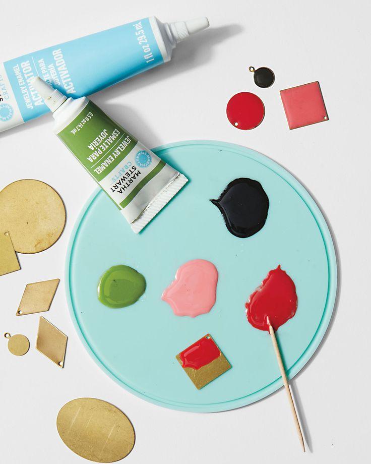 Using No-Bake Enamel Paint   Martha Stewart