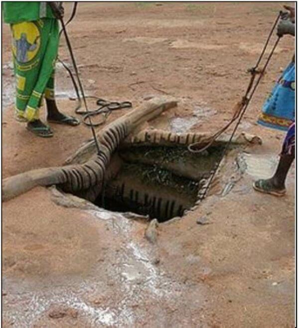 foraje puturi apa - Apele de suprafata intra in put