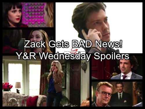 The Young and the Restless Spoilers: Wednesday, September 27 - Alice's Shocking News for Zack - Tessa Crushes Mariah | Celeb Dirty Laundry