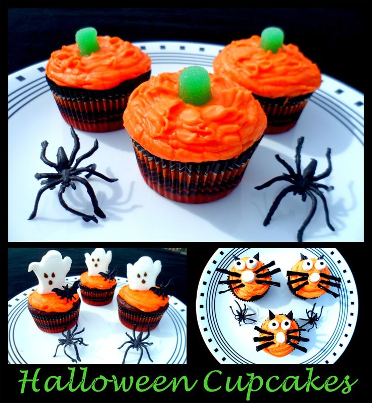 Halloween Party Ideas For Kids Cupcakes Decorating