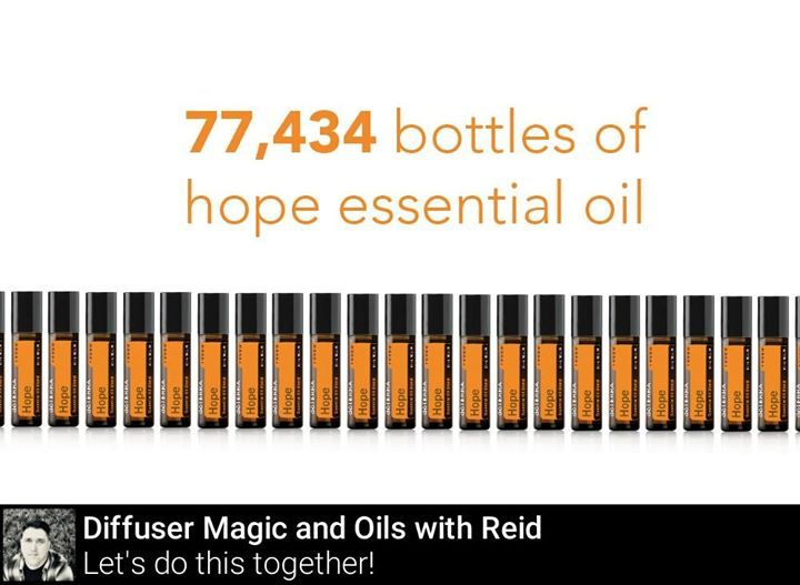 dōTERRA Year In Review  I am not sure if you know this but the full purchase price of each doTERRA Hope Touch bottle is donated to the doTERRA Healing Hands Foundation which supports O.U.R. Rescue an organization dedicated to rescuing children from child slavery worldwide.   Uses  -Apply to wrists neck and pulse points for a personalized fragrance  -Keep in purse and apply throughout the day to uplift mood  -Roll on a sachet and keep in drawers or closets to give clothes a fresh scent  Did…