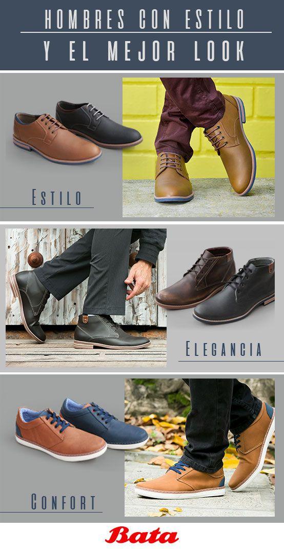 La tendencia par hombre también existe y en Bata puedes encontrar los zapatos para cada ocasión