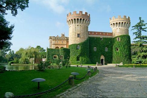 Peralada Castle, near Figueres, Costa Brava, Spain