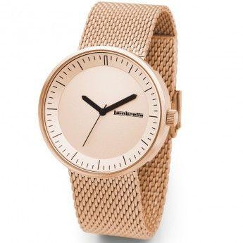 Reloj Oro Rosa Franco Mesh Lambretta. http://www.relojeslambretta.es/products/reloj-oro-rosa-franco-mesh-lambretta?variant=1073185521