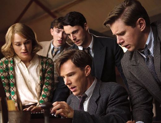 The Imitation Game...Benedict Cumberbatch, Keira Knightley, Matthew Goode, and Allen Leech...MUST SEE