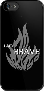 divergent phone case i am brave
