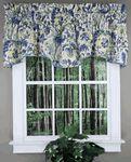 Imperial Dress Valance - Porcelain - Waverly - Waverly Curtains
