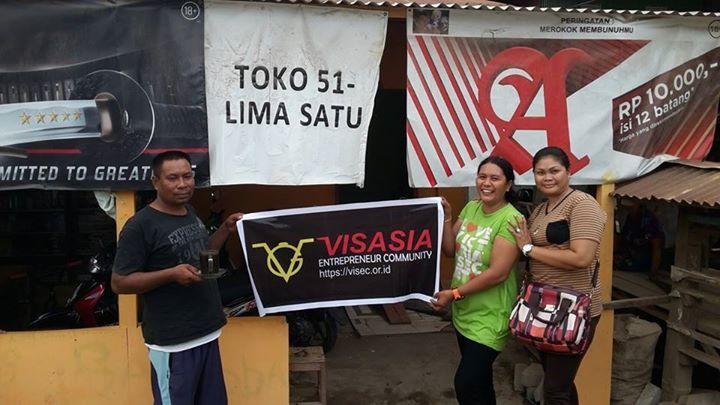 Visasia Entrepreneur Community - Toko 51 Barombong Makassar, Sulsel