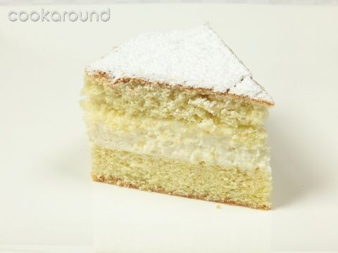Margherita farcita alla crema di yogurt: Ricette Dolci   Cookaround