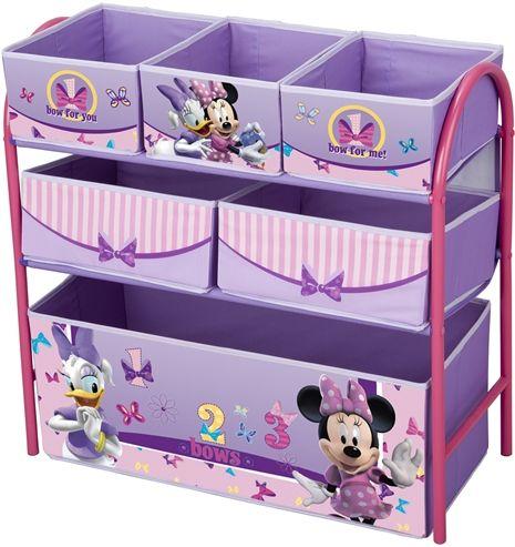 Minnie Mouse, Förvaringshylla, 6 lådor, Metall