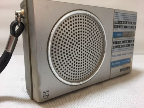 PHILIPS D1020 Two Band Radio (MW/LW) Vintage in Collectables, Radio/ Television/ Telephony, Radio   eBay