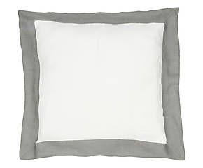 Cuscino arredo in lino Alain grigio - 50x50 cm