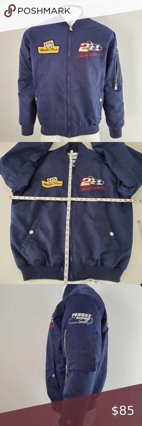 Vintage Rusty Wallace Nascar Jacket Size M in 2020