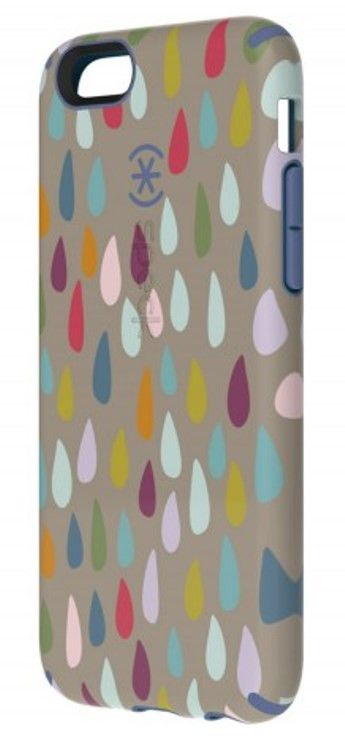 Speck iPhone 6/6s CandyShell Inked Case - Rainbow Drop Pattern / Wisteria Purple