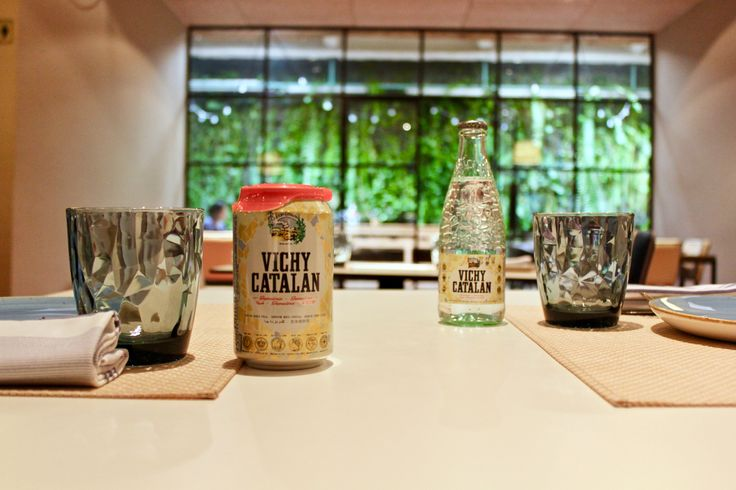 Vichy Catalan genuina, en lata o en botella, ideal para tu #momentovichyfood