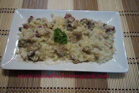 Mis recetas Mycook: Risotto de champiñones