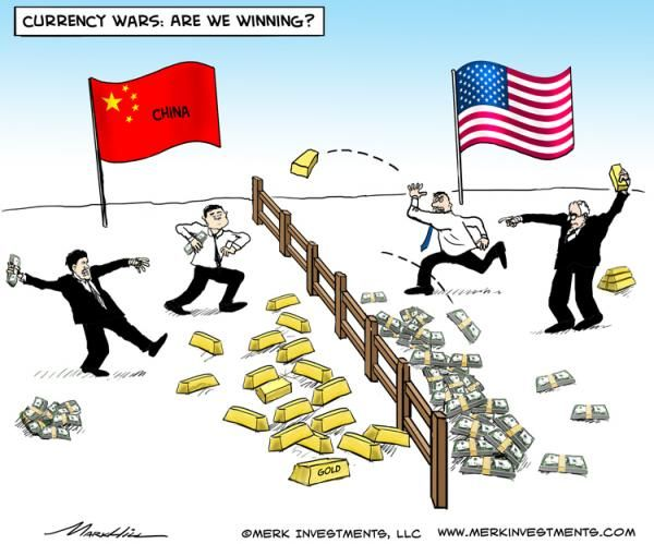 US VS. CHINA CURRENCY WAR FOR DUMMIES. We have a sinking suspicion we know who the ultimate winner of this particular war will be.