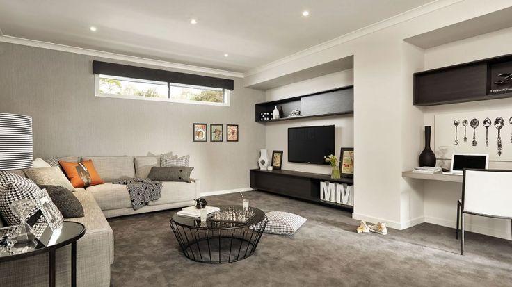 Casa de dos pisos moderna, fachada y diseño de interiores   Construye Hogar
