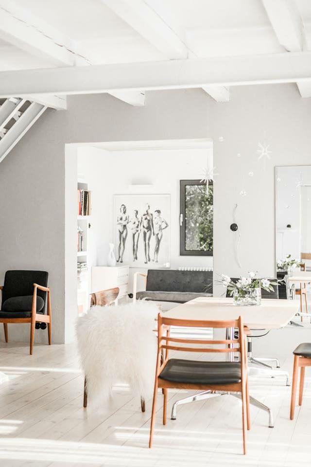 good luxus hausrenovierung wunderschone esszimmer schwarz weis die ihre monochrome magie arbeiten #1: Esszimmer, Wohnen, Wandgestaltung, Minimalistisches Hausdesign, Nordischer  Stil, Haus Innenräume, Wohnräume, Grau, Innenarchitektur